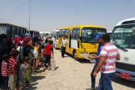 Photo-IOM provides transportation to displaced Iraqis