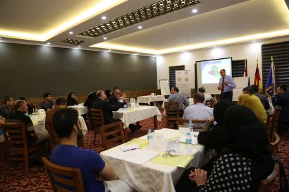 Community Policing training for displaced Iraqis and host community members, Basra, July 2016